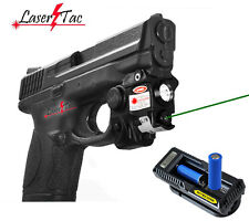 Lasertac Subcompact Green Laser Light Combo for S&W M&P Beretta PX4 Ruger Pistol