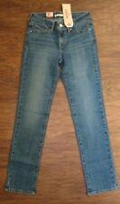 ladies 712 slim levi strauss jeans lighter blue, size 25 x 30, NEW, nwt