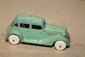 NICE TOOTSIETOY GREEN  1935 FORD SEDAN