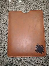 Android Logo Faux Leather Tablet Case