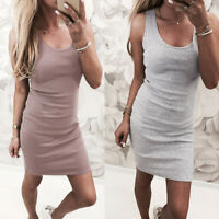 Womens Tops Oversized Loose UK Daily Baggy Party Short Holiday Mini Dresses