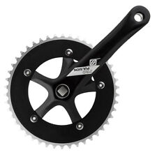 Origin-8 Single Speed Crankset Or8 P/p Ss 170x46 Sq Bk