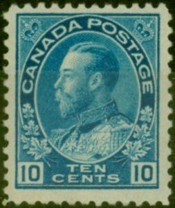 Canada 1922 10c Blue SG253 Fine Lightly Mtd Mint