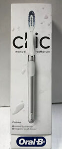 📀 Oral-B Clic Manual Toothbrush w/ Magnetic Brush Holder REFURBISHED ‼️