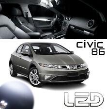 Honda CIVIC 8G Kit 4 Ampoules LED Blanc éclairage Habitacle plafonnier Coffre