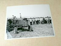 Vintage photography. New John Deere tractor in the USSR. 1960s Q1