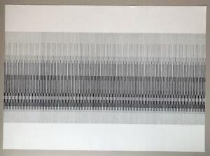 Timm Ulrichs Serielle Formationen Siebdruck 1970 handsigniert