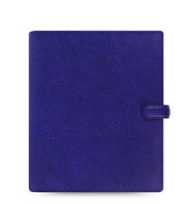 Filofax A5 Finsbury Leather Organizer Electric Blue Leather- 022500