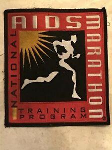 rare obsolete National Aids Marathon Training Program Jacket Patch Gay Interest