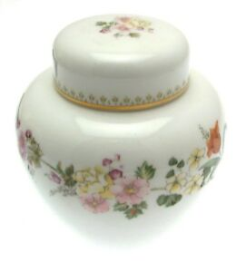 Mirabelle Ginger Jar Storage Jars Porcelain Floral Design