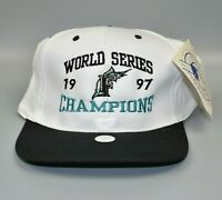 Florida Marlins 1997 MLB World Series Champions Headmaster Snapback Cap Hat