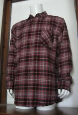 2XL Men Field & Stream Classic Lightweight Long Sleeve Flannel Shirt Plaid NWT