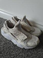Nike haurache Talla 7 Para hombre Zapatillas todo blanco señoras