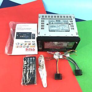 Boss BV9358B CD DVD Bluetooth Double Din Audio Car Receiver #NO2459