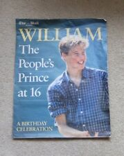 Mail on Sunday 'WILLIAM The Peoples Prince at 16'  Birthday Celebration