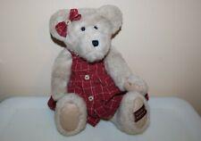 "Boyds Bears Plush 2002 ~16"" Kristen T. Beansley~ Gold Edition Retired Euc"