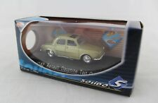 RENAULT DAUPHINE GOLD TOIT OUVRANT SOLIDO 4542 1/43 MIF