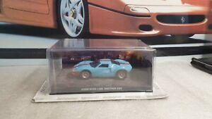 EAGLEMOSS - james bond 007 - FORD GT40,  1/43 scale model car issue 52