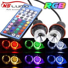 Lux RGB remote LED Marker Angel Eyes rings for BMW E39 E53 E60 X3 X5 E63 E87