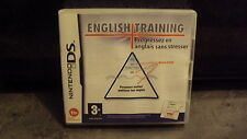 NINTENDO - Jeu DS: ENGLISH TRAINING - sans notice