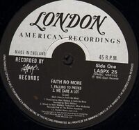 "FAITH NO MORE falling to pieces LASPX 25 uk slash 1990 12"" WS EX/"