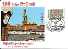 CLB66) Nice W. Germany 1983 Card Rough House, St Pauls