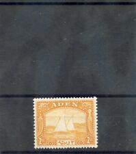 ADEN Sc 10(SG 10)**VF NH 1937 2R YELLOW $475