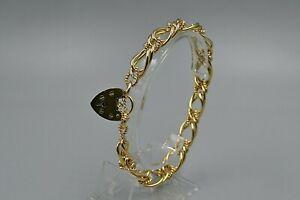 9ct charm bracelet