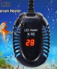 Aquarium Heater Temperature Control Led Digital Submersible Turtle Tank 100W Us