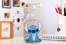 Ultra Thin Cartoon Soft TPU Crystal Clear Case Cover for iPhone 6 6plus #15 Mickey Mouse for iPhone 5 5s