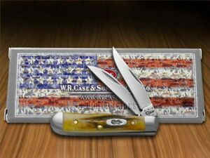 Case xx Tiny Trapper Knife Genuine Deer Stag Stainless Pocket Knives 05968