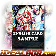 Buddyfight x 1 Dragonarms, Wieger [X-BT01A-CP02/0076EN SECRET (FOIL)] English Mi