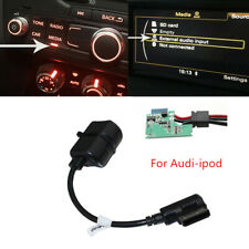 Car ABS Bluetooth Wireless Module Radio Stereo AUX Cable Adapter For Audi-ipod