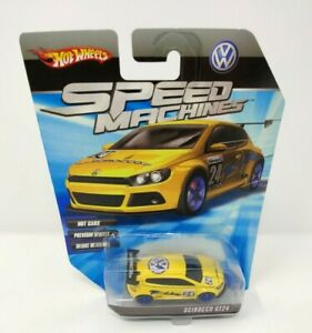 Hot Wheels Speed Machines VW SCIROCCO GT24 Premium Deluxe Muscle Race Sports Car