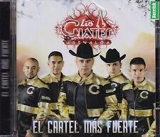 Los Cuates de Sinaloa El cartel Mas Fuerte CD New Nuevo Sealed