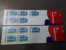 """Nederland NVPH Pb 68 2x """" 5 voor Nederland """" Frankeerwaarden 2001 Postfris !!!"""