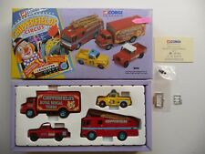 Corgi Chipperfields 31703 - Land Rover, Morris Minor, Thames Trader & AEC Fire.