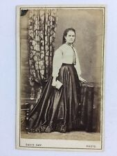 Victorian Carte De Visite CDV: Lady: David Gay: Sussex Garden Studio: Hyde Park