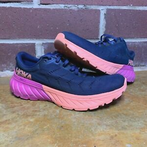 Hoka One One Women's Mach 2 Running Shoes Blue / Berry SZ 8