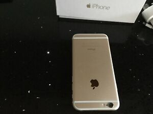 Apple iPhone 6 - 16GB - Gold unlocked and In Good condition.
