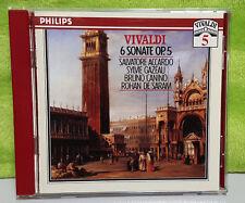 Vivaldi Edition, Vol 5 - 6 Sonate, Op 5 / Accardo by Salvatore Accardo (CD, Jul-