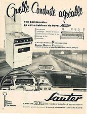PUBLICITE ADVERTISING 024   1962   SAUTER   cuisinière