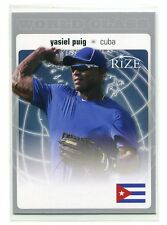 YASIEL PUIG 2012 Leaf Rize World Class ROOKIE INSERT Dodgers QUANTITY QTY