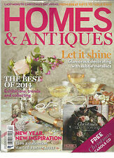HOMES & ANTIQUES, JANUARY, 2014  ISSUE,252 ( THE BEST OF 2014 * LET IT SHINE )