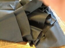 Black Sateen cotton Curtain Lining Fabric -  135 gsm 137cms Wide Gd Quality