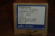 GC Valves Solenoid Coil C300F02A18