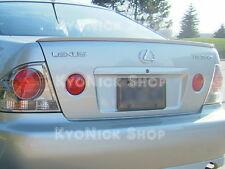 LEXUS IS200 IS250 IS300 1998 - 2005 M3 tipo Boot LIP SPOILER UK Venditore