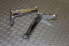 MIRROR POLISHED Yamaha Banshee footpegs foot pegs OEM factory 1987-2006