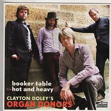 CLAYTON DOLEY'S ORGAN DONORS Booker Table M- 45 RPM P/C M-
