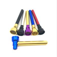 1PC Portable Metal Flashlight Shape Smoking Pipe Tobacco Herb Filter Pipes New